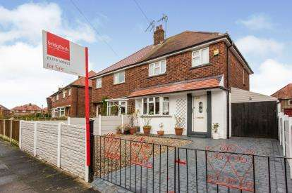 3 Bedrooms Semi Detached House for sale in Barthomley Crescent, Crewe, Cheshire