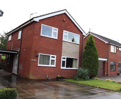 3 Bedrooms Detached House for sale in Sandown Road, Hazel Grove, Stockport, Cheshire