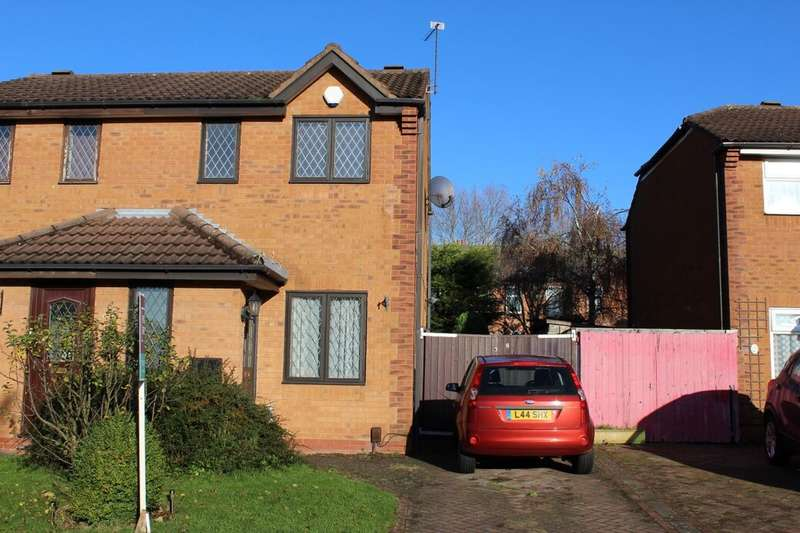 2 Bedrooms Semi Detached House for rent in Martin Close, Birmingham, B25