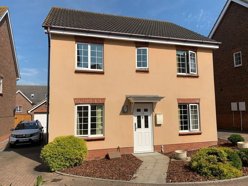 4 Bedrooms Detached House for sale in Stour Close, Harwich, CO12