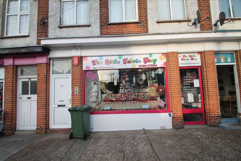 Commercial Property for sale in Freehold Shop Unit (The Little Fabric Shop), Felixstowe, Felixstowe