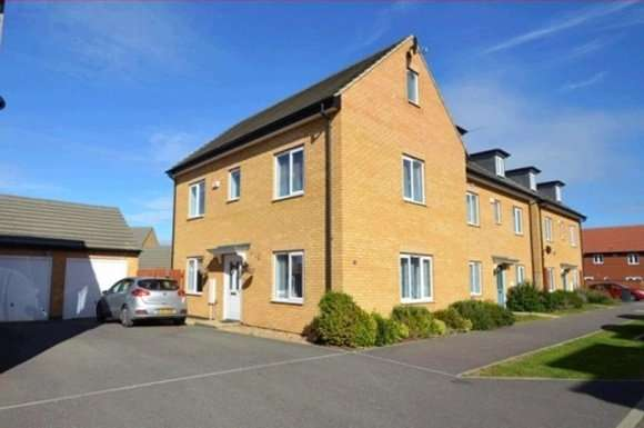 4 Bedrooms Property for sale in Woodward Drive, Peterborough