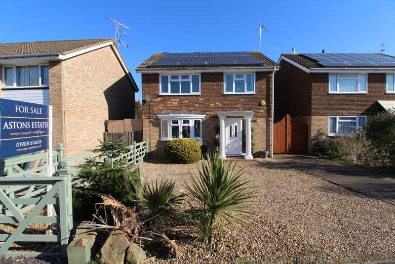 4 Bedrooms Detached House for sale in Westbury Lane, Newport Pagnell, Buckinghamshire
