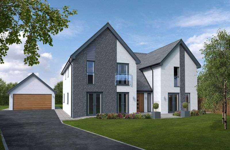 4 Bedrooms Property for sale in Plot 2, Heol Las, Maudlam, Bridgend