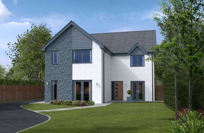 4 Bedrooms Property for sale in Plot 1, Heol Las, Maudlam, Bridgend