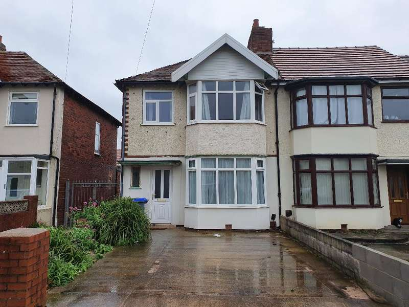 3 Bedrooms Semi Detached House for sale in Repton Avenue, Blackpool, FY1 2RZ