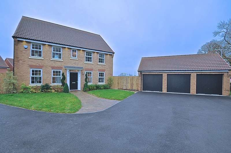 4 Bedrooms Detached House for sale in Lawrance Avenue, Anlaby, HU10
