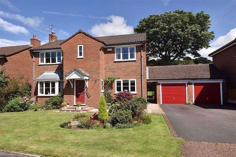 4 Bedrooms Detached House for sale in Clarendon Drive, Macclesfield