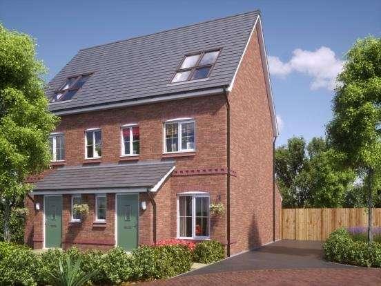 3 Bedrooms Semi Detached House for sale in Plot 102, Coseley Road,, Bilston, West Midlands, WV14