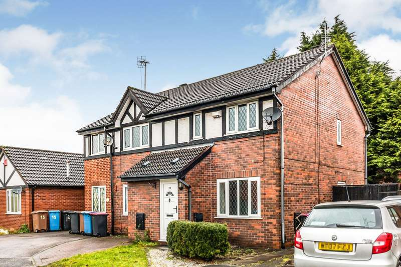 2 Bedrooms Semi Detached House for sale in Aegean Gardens, Salford, Greater Manchester, M7