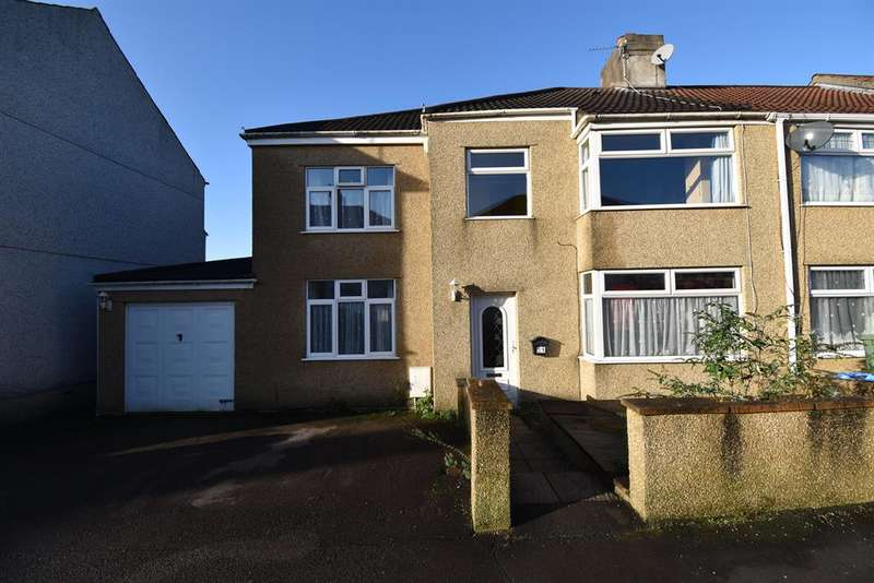 5 Bedrooms End Of Terrace House for sale in Beaufort Road, Kingswood, Bristol, BS15 1NF