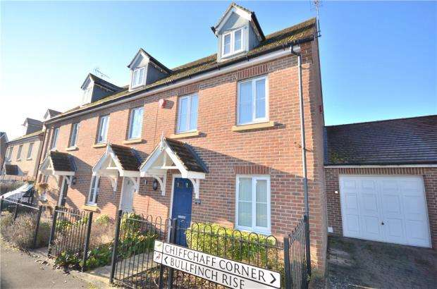 3 Bedrooms End Of Terrace House for sale in Bullfinch Rise, Bracknell, Berkshire