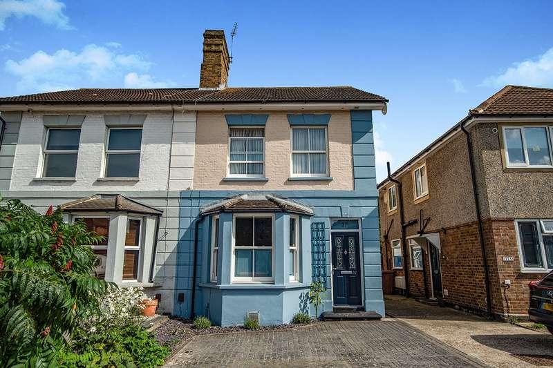 4 Bedrooms Semi Detached House for sale in Church Road, Bexleyheath, Kent, DA7