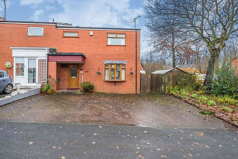 3 Bedrooms End Of Terrace House for sale in Lowcroft, Skelmersdale, Lancashire, WN8