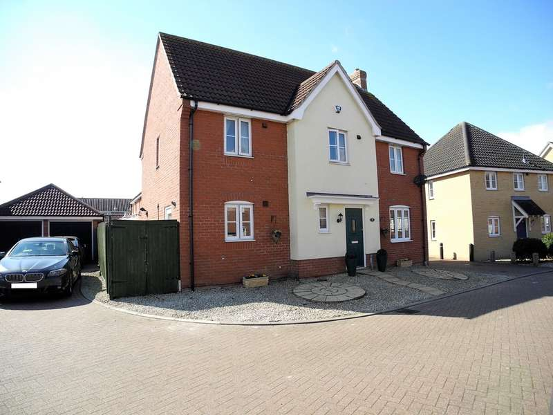 4 Bedrooms Detached House for sale in Jenner Close, Bungay
