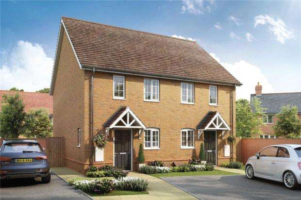 2 Bedrooms Semi Detached House for sale in Bramley View, Bramley Nr Sherfield On Loddon, Hampshire