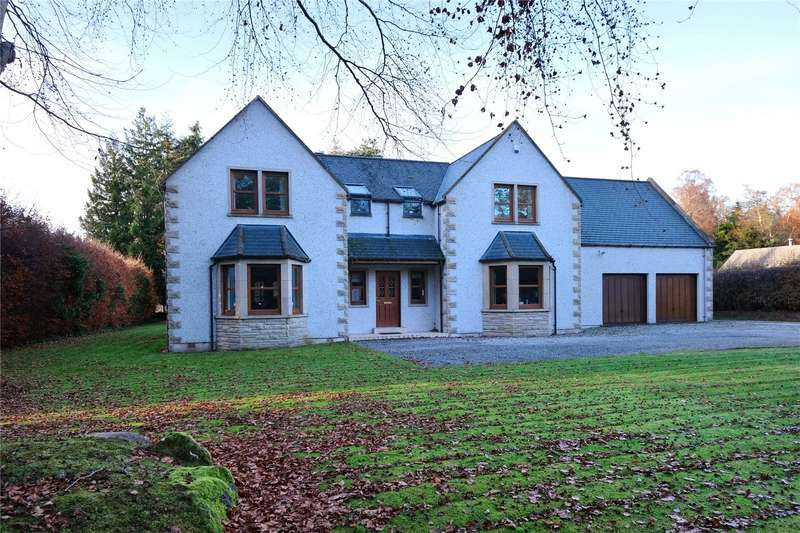 5 Bedrooms Detached House for sale in Copper Beeches, Ardgilzean, Elgin, Moray, IV30