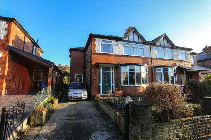 3 Bedrooms Semi Detached House for sale in Cross Lane, Marple, Cheshire, SK6