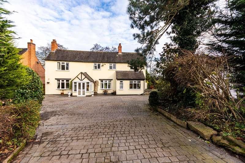 3 Bedrooms Detached House for sale in Sudbury Road, Yoxall, Burton-on-Trent, DE13