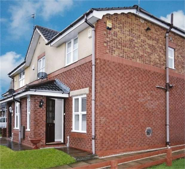 2 Bedrooms Semi Detached House for sale in April Close, Oldham, Lancashire