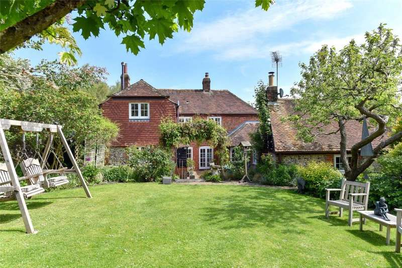 4 Bedrooms Detached House for sale in Milberry Lane, Stoughton, Chichester, West Sussex, PO18