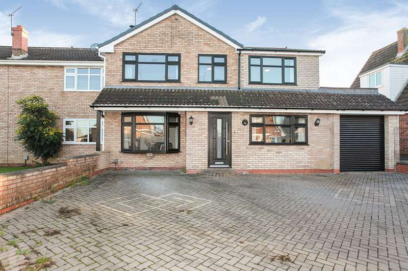 5 Bedrooms Semi Detached House for sale in Malvern Avenue, Nuneaton, Warwickshire, CV10