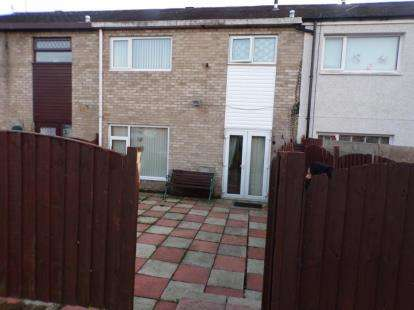 3 Bedrooms Terraced House for sale in Llys Siabod, Caernarfon, Gwynedd, LL55