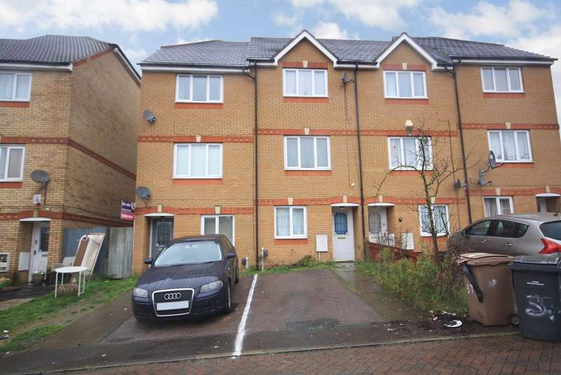 4 Bedrooms Town House for sale in Dunraven Avenue, Luton, LU1