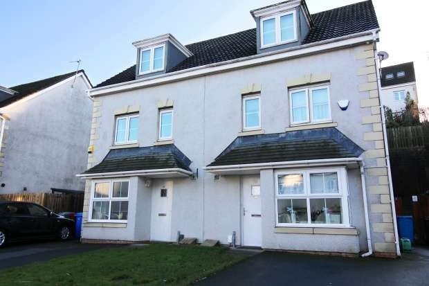 4 Bedrooms Semi Detached House for sale in Hawthorn Avenue, Cambuslang, Glasgow, G72 7AE