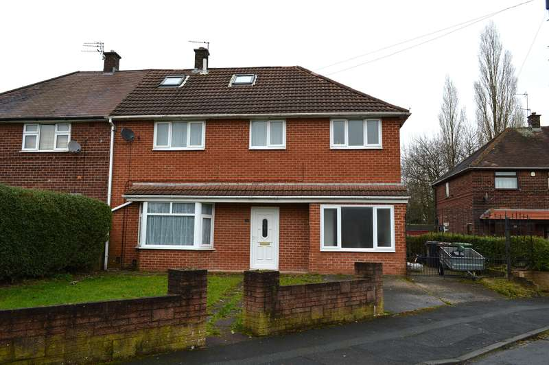 4 Bedrooms Semi Detached House for sale in Cartmel Crescent, Chadderton, Oldham, OL9 8DA