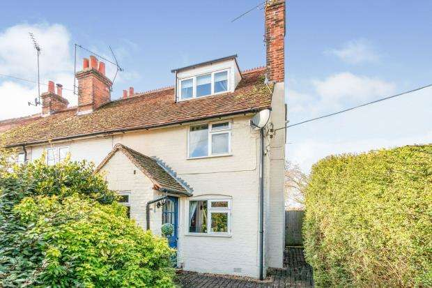 2 Bedrooms End Of Terrace House for sale in Hook Road, North Warnborough, Hook