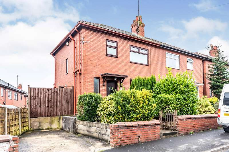 3 Bedrooms End Of Terrace House for sale in Copster Avenue, Oldham, Greater Manchester, OL8