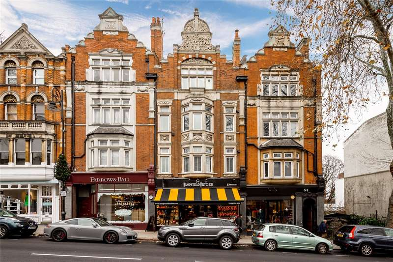 1 Bedroom Flat for sale in Rosslyn Hill, Hampstead, London, NW3