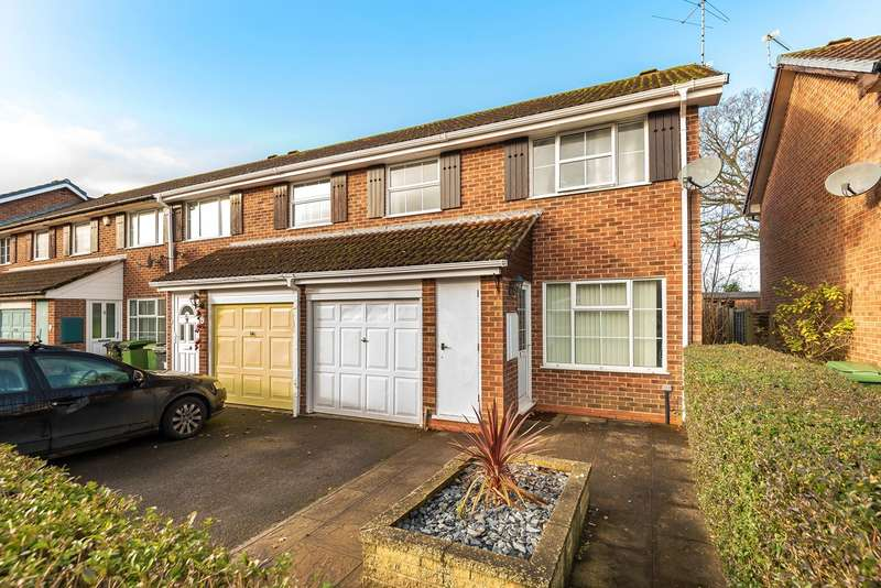 3 Bedrooms End Of Terrace House for sale in Auklet Close, Kempshott, Basingstoke, RG22