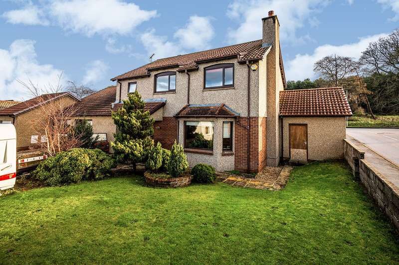 4 Bedrooms Detached House for sale in Manitoba Place, Elgin, Moray, IV30