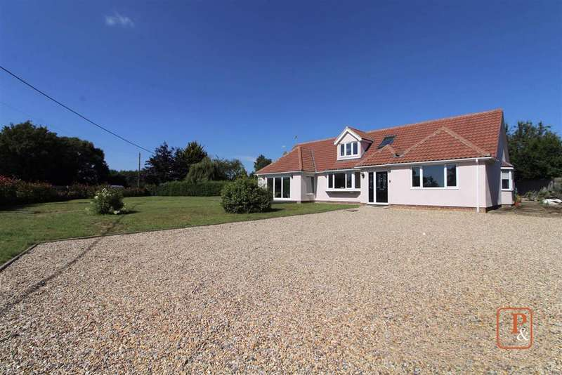 4 Bedrooms Bungalow for sale in Silver Hill, Hintlesham, Suffolk