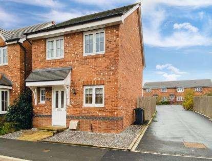 3 Bedrooms Detached House for sale in Ffordd Dewi, Oakenholt, Flint, Flintshire, CH6