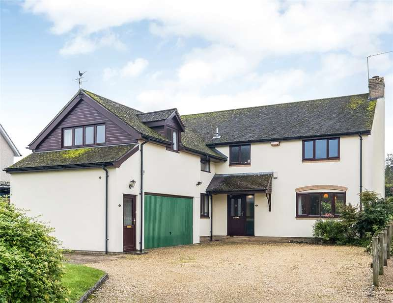 4 Bedrooms Detached House for sale in Church Street, Wylye, Warminster, Wiltshire, BA12