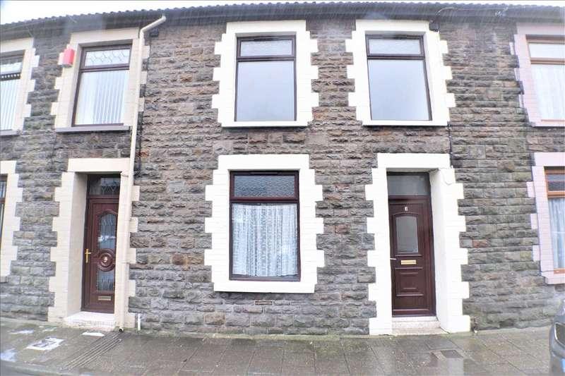 3 Bedrooms Terraced House for sale in Baglan Street, Pentre