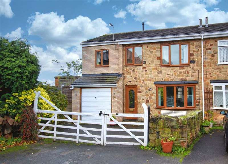 Semi Detached House for sale in Lee Brigg, Altofts, Normanton, West Yorkshire