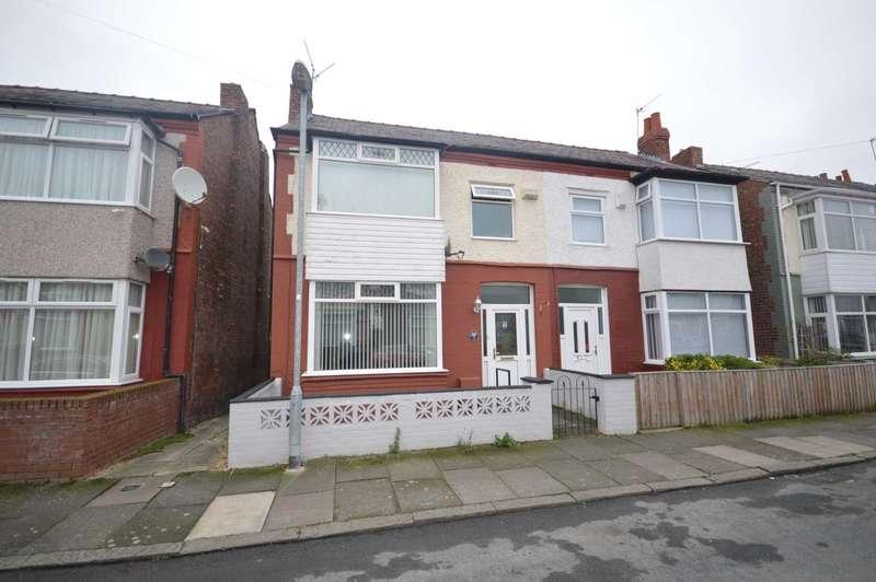 3 Bedrooms Semi Detached House for sale in Silverdale Road, Bebington