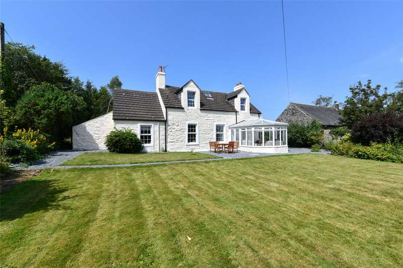 4 Bedrooms Detached House for sale in Wellhouse Farm & Cottages, Kirkcowan, Newton Stewart, Dumfries and Galloway, South West Scotland, DG8