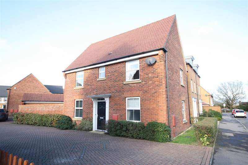 3 Bedrooms Detached House for sale in Calgary Close, Waterlooville