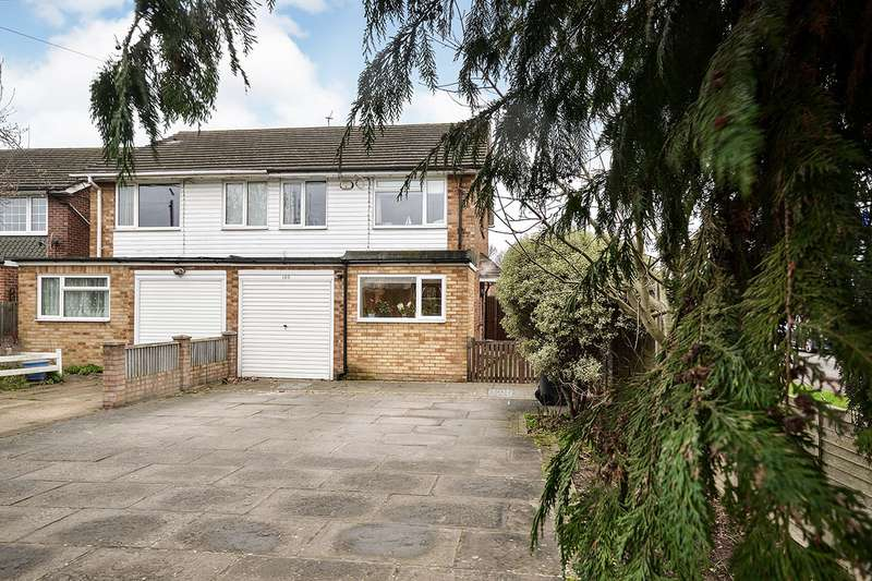 3 Bedrooms Semi Detached House for sale in Lunsford Lane, Larkfield, Aylesford, Kent, ME20
