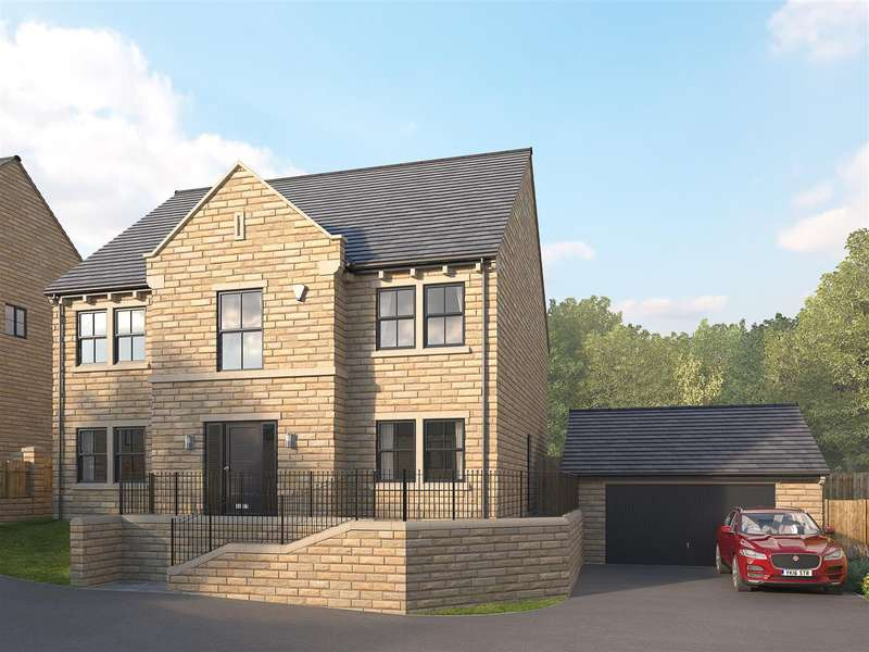 4 Bedrooms Detached House for sale in The Walton, Snelsins View, Cleckheaton