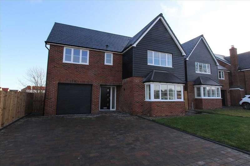 4 Bedrooms Detached House for sale in St. Davids Park, Old Crowhall Lane, Cramlington