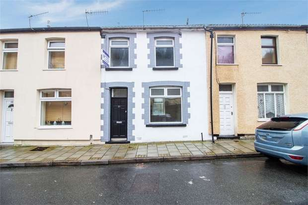 3 Bedrooms Terraced House for sale in Woodland Road, Tylorstown, Ferndale, Mid Glamorgan