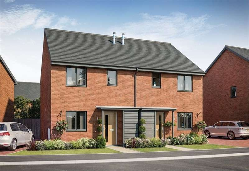 2 Bedrooms Semi Detached House for sale in Morton Park, Wavendon, Milton Keynes, Buckinghamshire, New Home