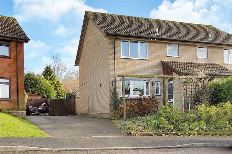3 Bedrooms Semi Detached House for sale in West Park, Appleshaw, Andover