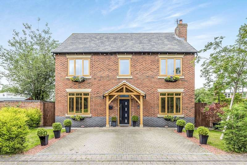 4 Bedrooms Detached House for sale in The Courtyard, Smallwood, Sandbach, Cheshire, CW11
